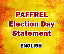 PAFFREL Election Day Statement