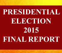 Presidential Election Final Report 2015
