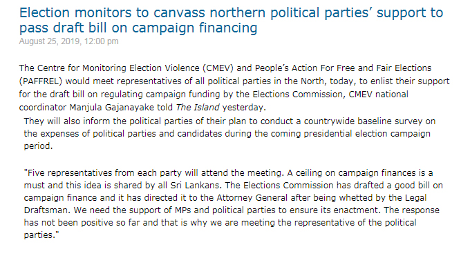 Election monitors to canvass northern political Parties...