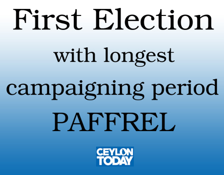 Firstr Election with longest campaigning period - PAFFREL